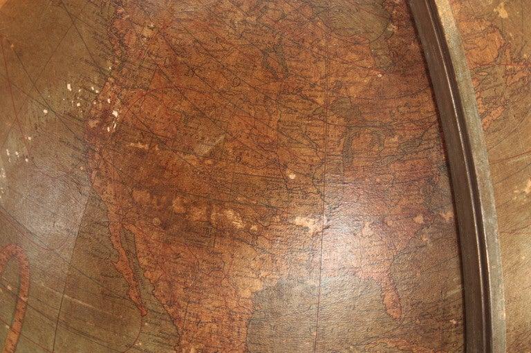 18 Inch Terrestrial Globe by W. & A. K. Johnston 5