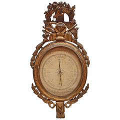 18th Louis XVI Century French Barometer