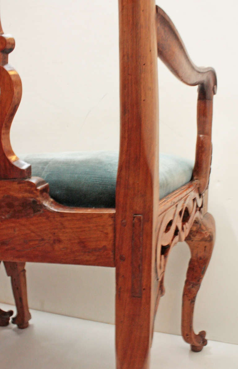 18th century Continental Chair Back Settee in the George II Taste 8