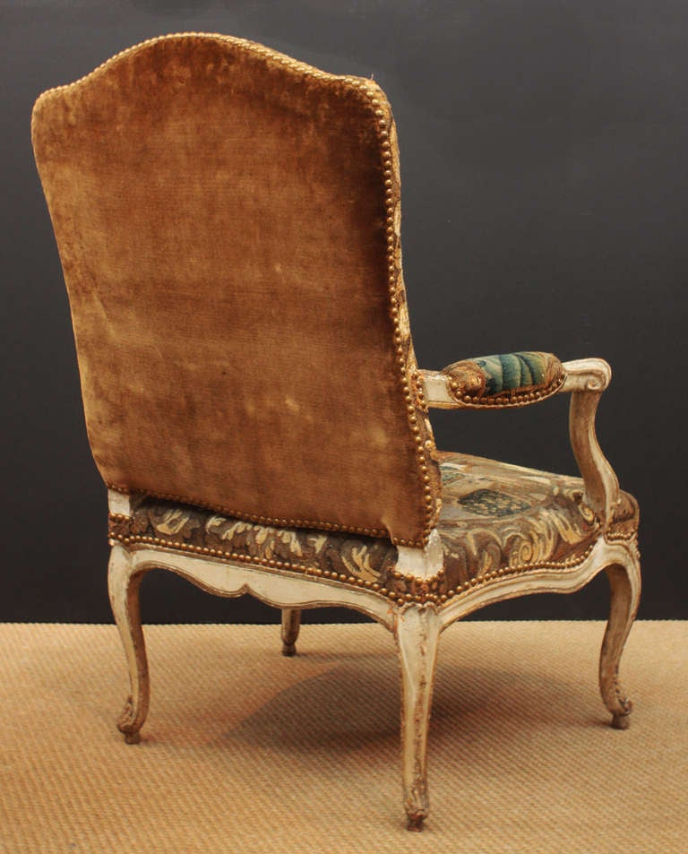 Pair of 18th Century Armchairs in Original Tapestry 5