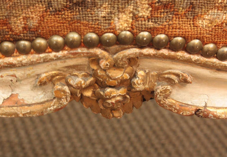 Pair of 18th Century Armchairs in Original Tapestry 7