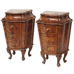 Pair of Petite Commodes
