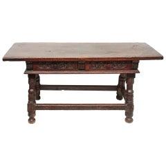 17th Century Spanish Table