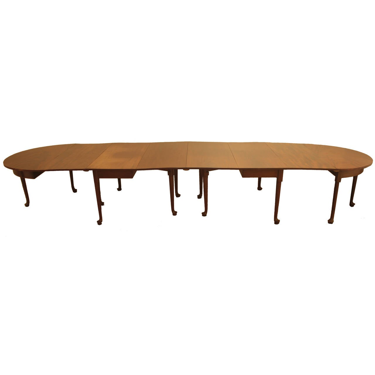 Period Queen Anne Dining Table At 1stdibs