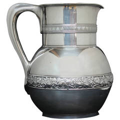 Tiffany & Co. Sterling Water Pitcher or Horse Racing Trophy