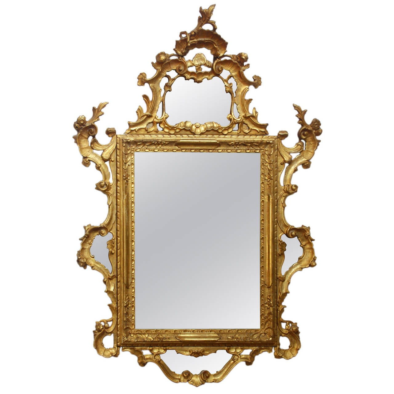 18th century italian rococo mirror at 1stdibs