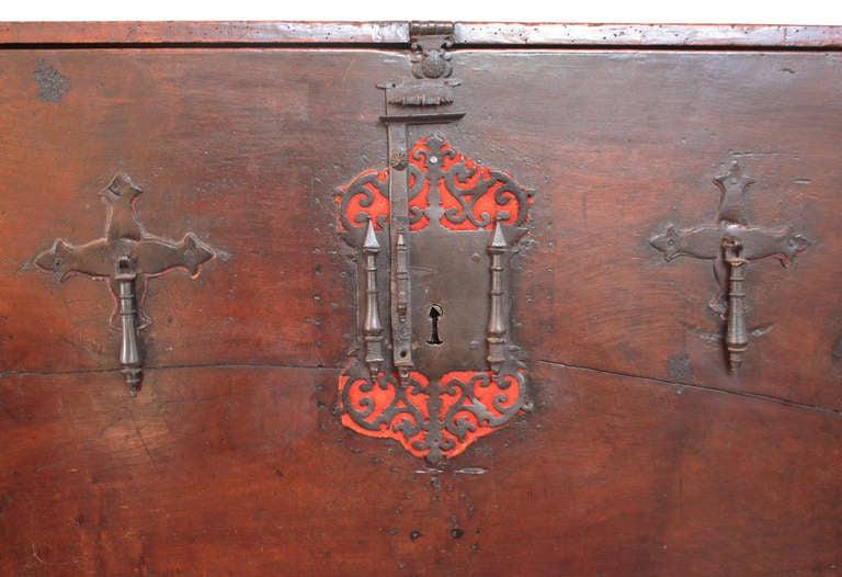 18th Century and Earlier Rare and Important 16th Century Spanish Vargueno For Sale