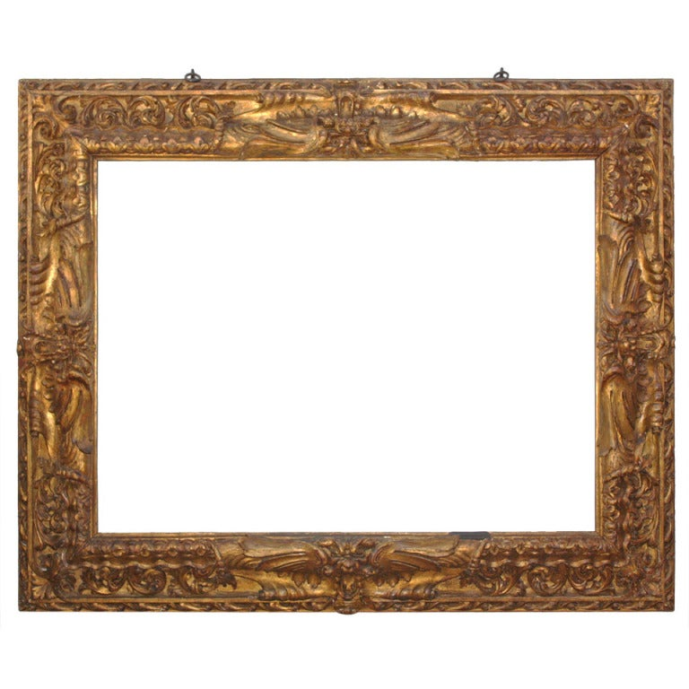 Large Carved and Gilded Frame 1