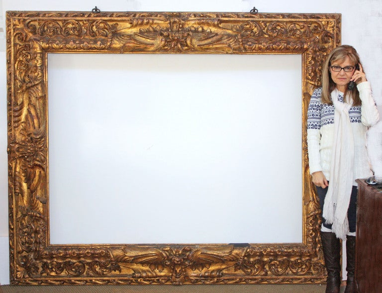 Large Carved and Gilded Frame 2