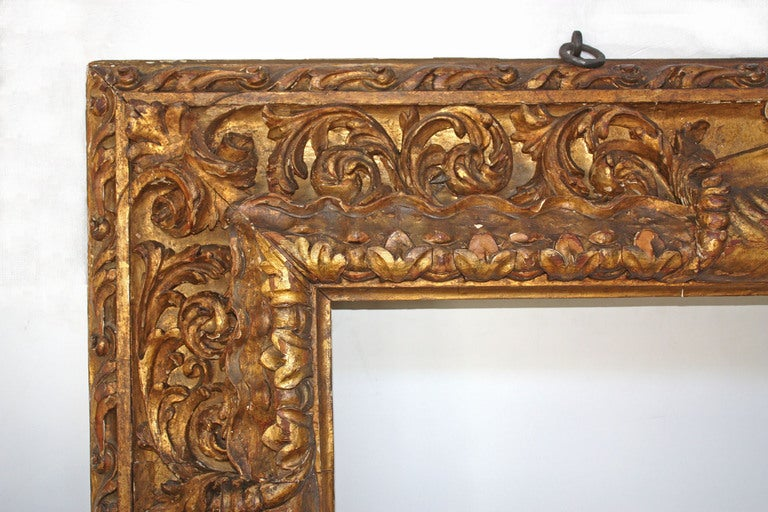 Large Carved and Gilded Frame 3