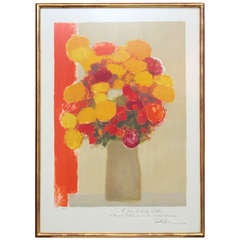 """""""Bouquet d' Autumn"""" by Bernard Cathelin, 1978"""