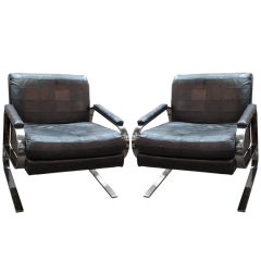 1970's Lounge Chairs by Dansen Contemporary