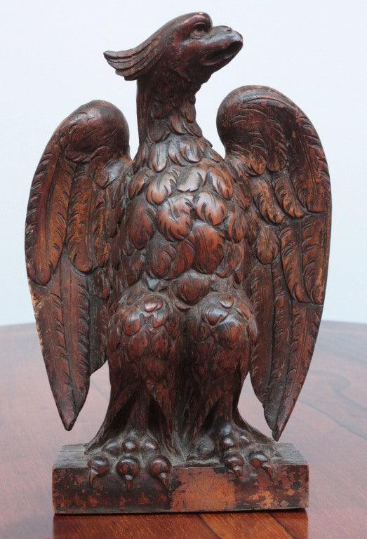 Carved Wood Eagle 2
