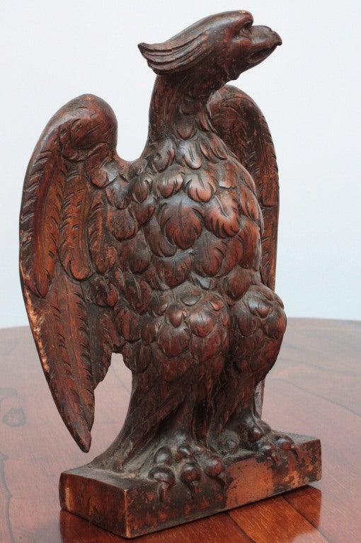 Carved Wood Eagle 3