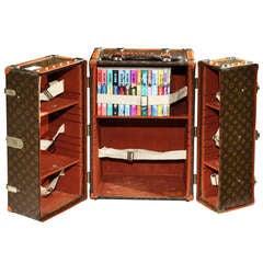 'Malle Bibliotheque' (Book trunk) by Louis Vuitton, Paris