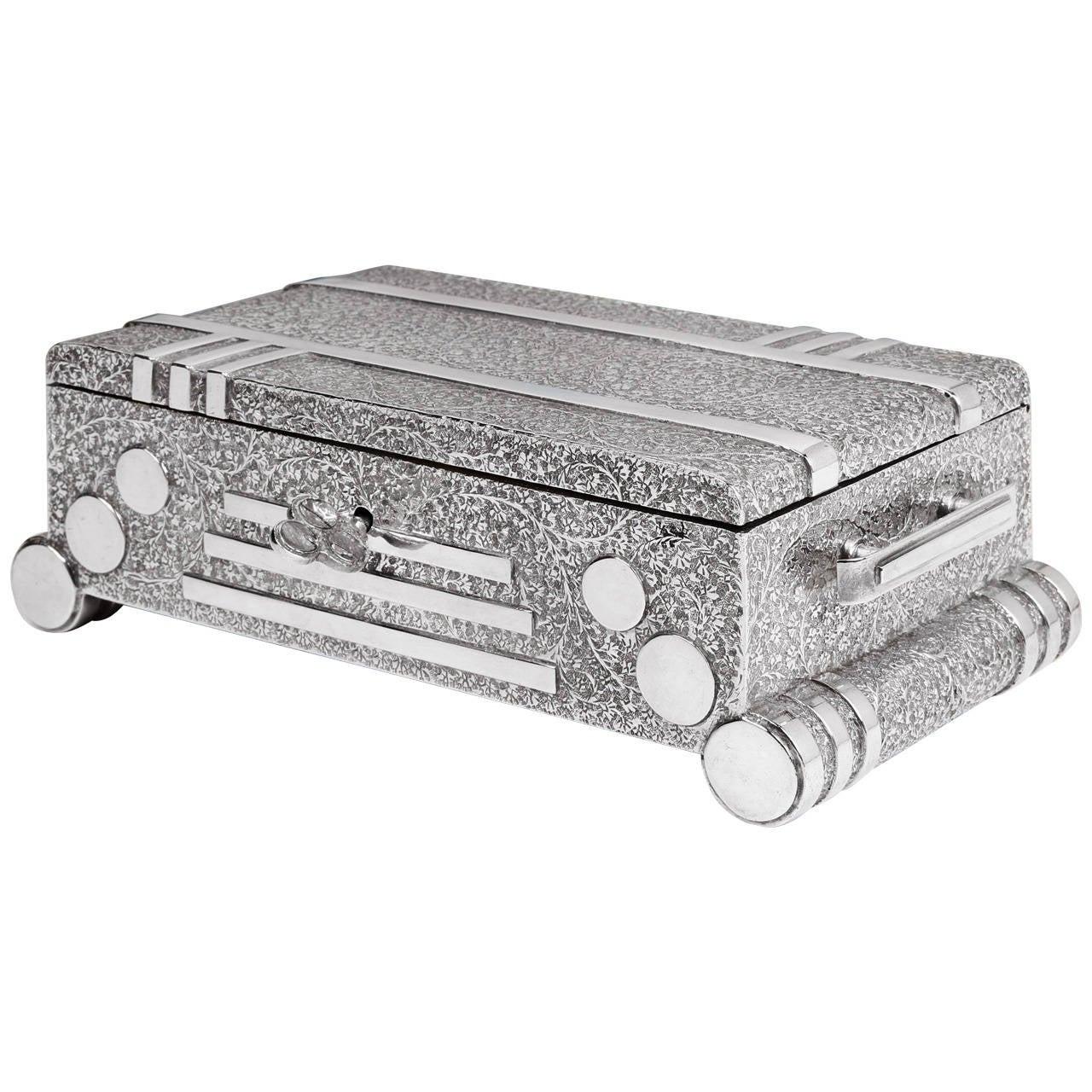 Art Deco 'Radio' Trinket Box
