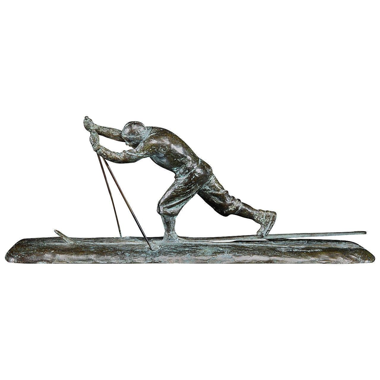 Cire Perdue Bronze Sculpture by Charles Sabouret For Sale