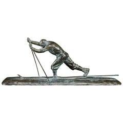 Cire Perdue Bronze Sculpture by Charles Sabouret