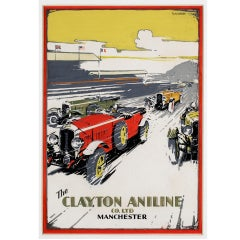 Original artwork for The Clayton Aniline Company, c. 1930
