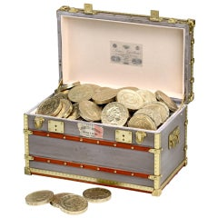 Desk trinket box & paperweight by Louis Vuitton