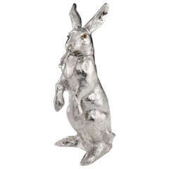 Sterling Silver 'Hare' Cocktail Shaker