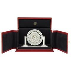 'World Time' Clock by Cartier, Paris