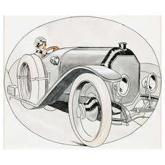 Original Artwork by Rene Vincent (1879-1936)
