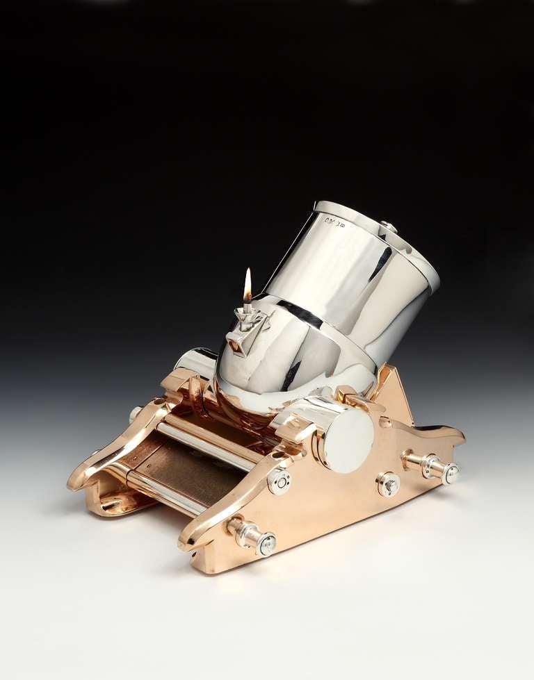 Mortar Cannon Table Cigar Holder Or Lighter At 1stdibs