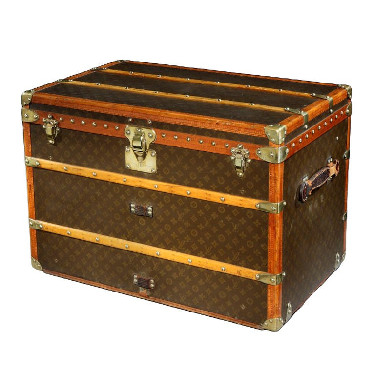 Courier trunk by louis vuitton circa 1930s for sale at for Furniture courier