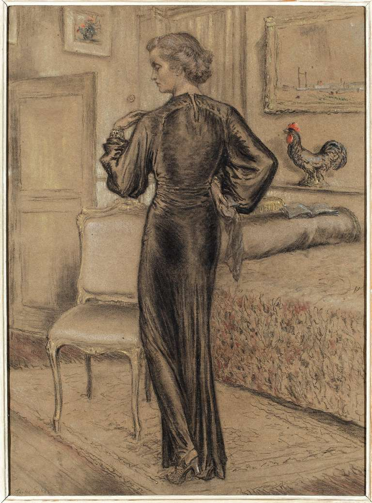'Portrait of a Lady' by Charles Sykes