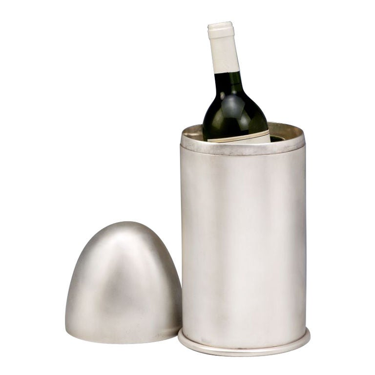 Giant Art Deco 'bullet' Champagne/wine cooler
