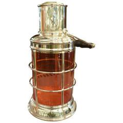 "The ""Ship's Lantern"" cocktail shaker by Asprey & Co."