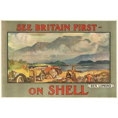 """Original Poster for """"See Britain First - on Shell"""""""