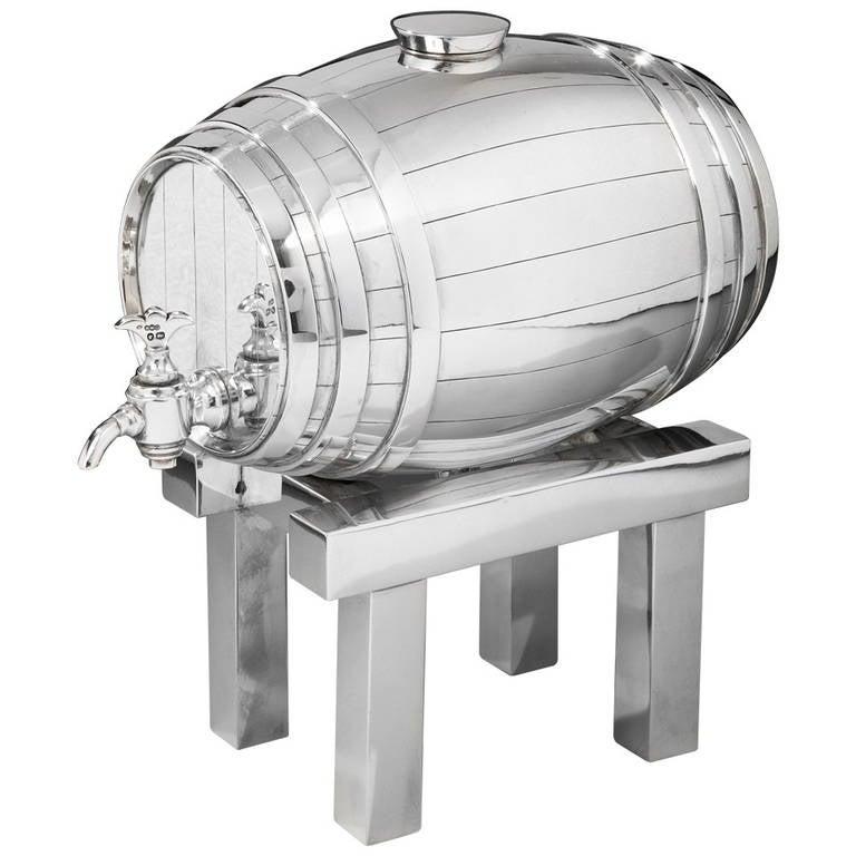 Novelty Barrel Spirit Decanter