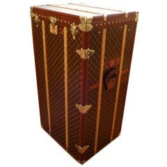'Malle Armoire' (wardrobe trunk) by Louis Vuitton