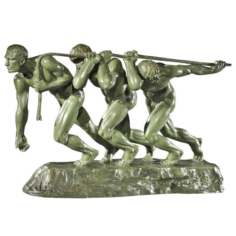 """""""Force"""" sculpture by M. Guiraud Riviere"""