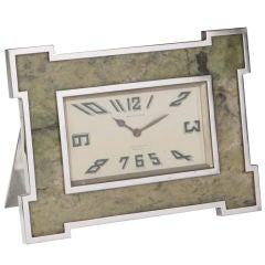 Art Deco clock by Mappin And Webb.