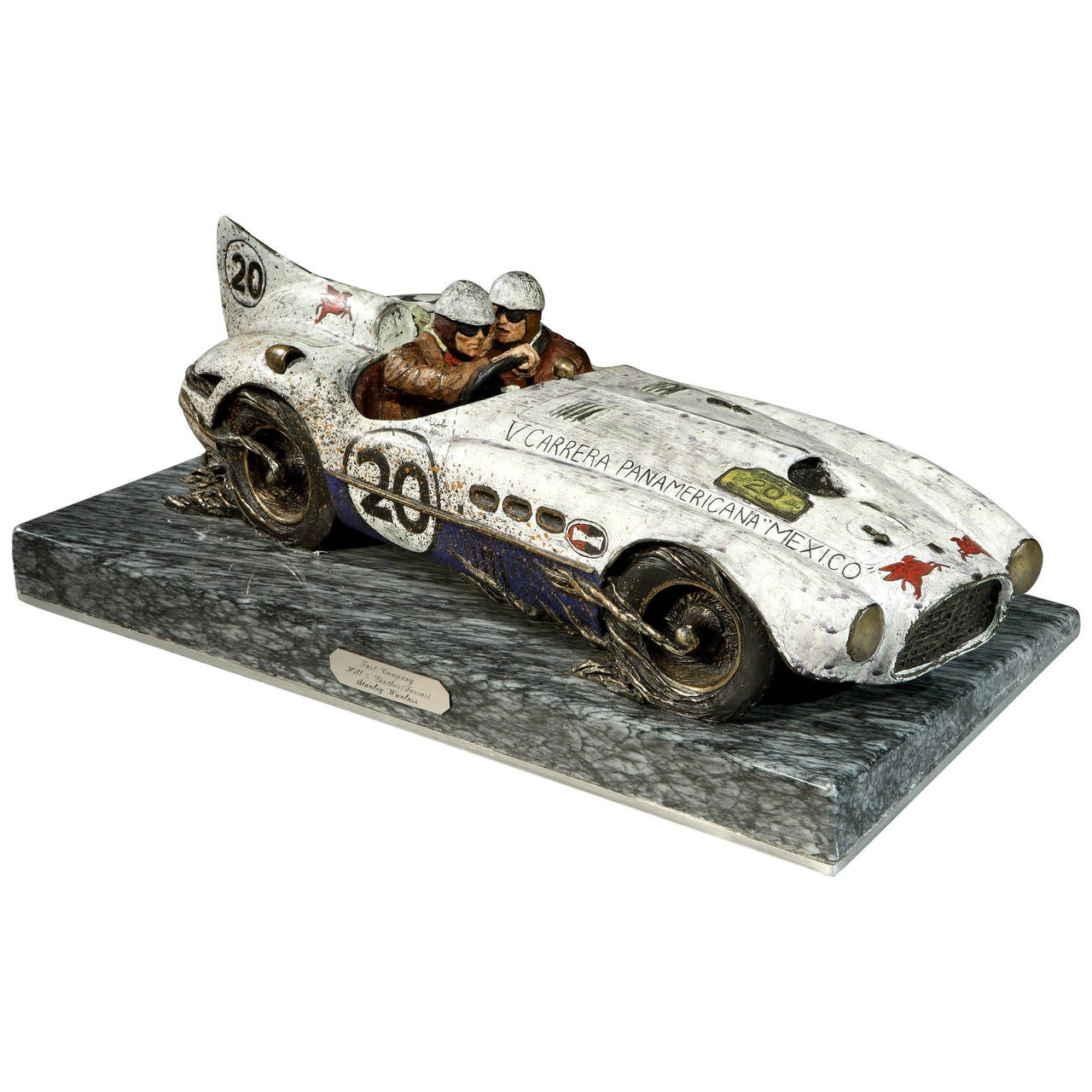 Stanley Wanlass Bronze Ferrari 375 MM 'Carrera Panamericana' Model