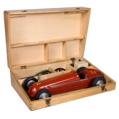 Early remote-control Maserati Tipo 4CL toy car, 1949