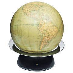 Illuminated Globe by Lucas Company, 1935