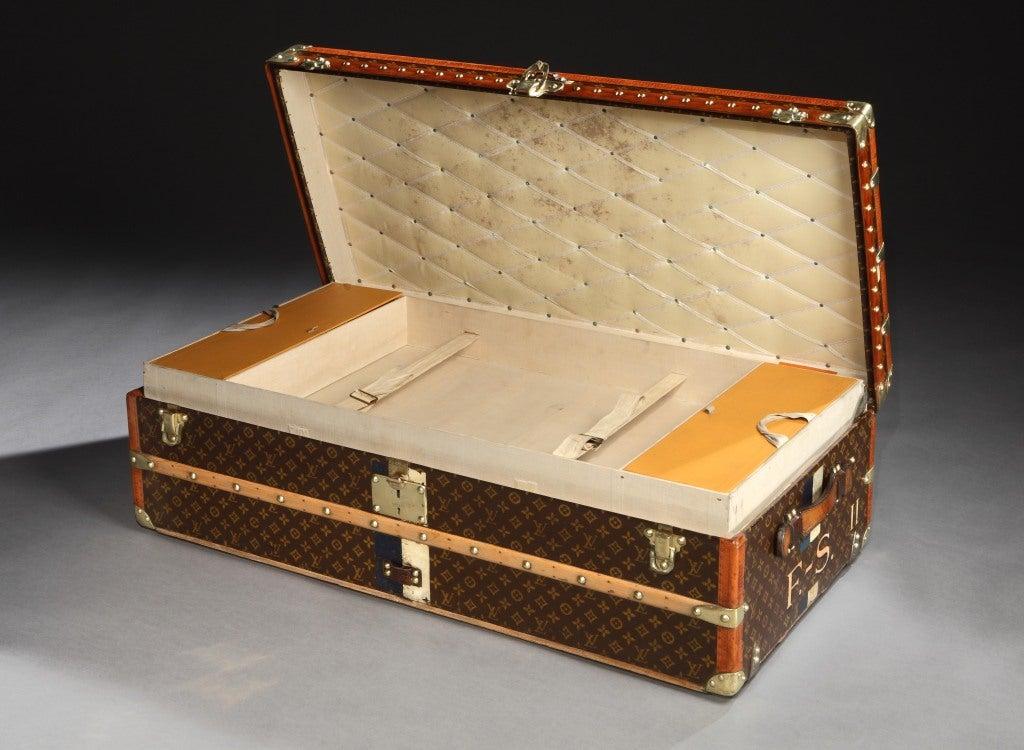 Art Deco 'Malle Cabine' (cabin trunk) by Louis Vuitton