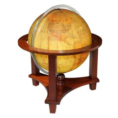 Large illuminating library globe, c. 1930s