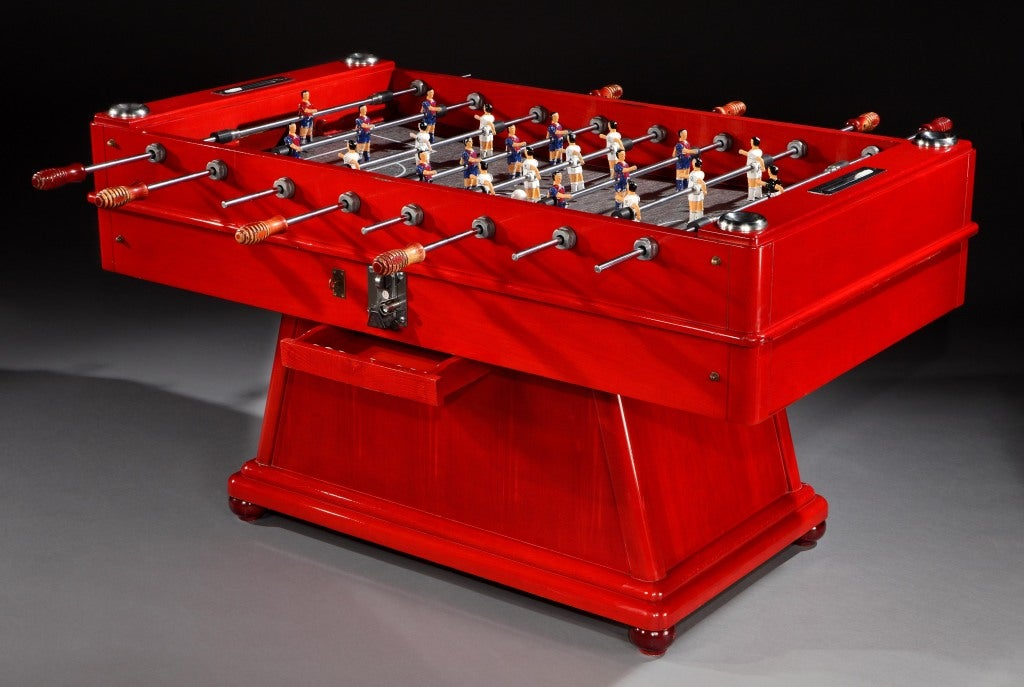 Table Football Foosball Table By Cordoba C 1960 At 1stdibs