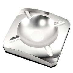 Giant Sterling Silver cigar ashtray, 1998