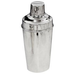 Silver plated Art Deco cocktail shaker by Tiffany & Co, 1930s