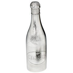 Novelty 'Champagne Bottle' smokers companion, 1920