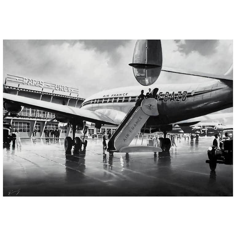 39 constellation at orly airport 39 by lucio perinotto 2011 for sale at 1stdibs - Comptoir air france orly telephone ...
