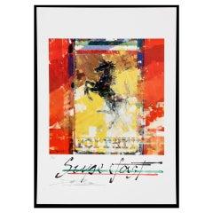 Ferrari 'Superfast' poster by Dexter Brown, 1997