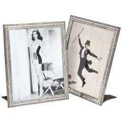 Large photograph frames by Heintz Art Metal Co., 1910