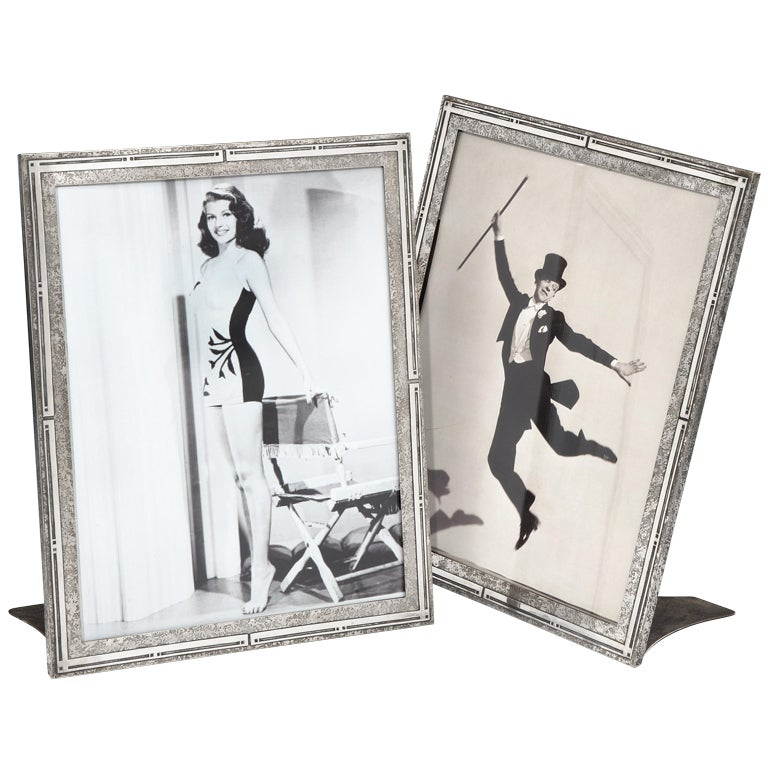 Large photograph frames by Heintz Art Metal Co., 1910